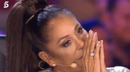 La emoción de Isabel Pantoja en 'Idol Kids' al recordar la distancia que le separa de su nieto Francisco