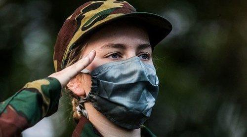 Isabel de Bélgica comienza su instrucción militar disparando y barriendo