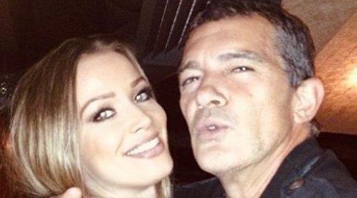 Antonio Banderas viaja a Berlín con Nicole Kimpel para volver al trabajo tras superar el coronavirus
