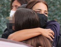 Paula Echevarría, con inseguridades en el primer día de instituto de su hija Daniella