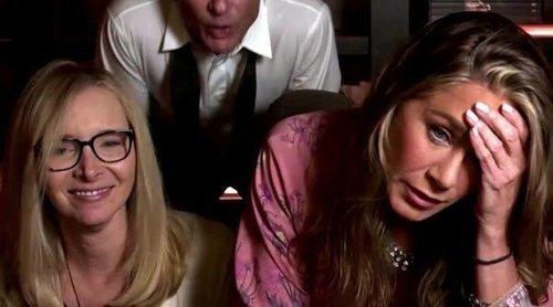 Jennifer Aniston protagoniza un reencuentro con sus compañeras de 'Friends' en la emisión de los Premios Emmy 2020