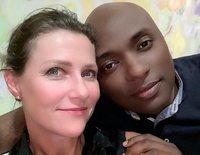 Marta Luisa de Noruega y Shaman Durek se reencuentran tras seis meses separados por la pandemia