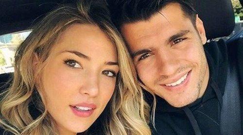 Álvaro Morata y Alice Campello se mudan a Italia con sus mellizos antes del nacimiento de su tercer hijo