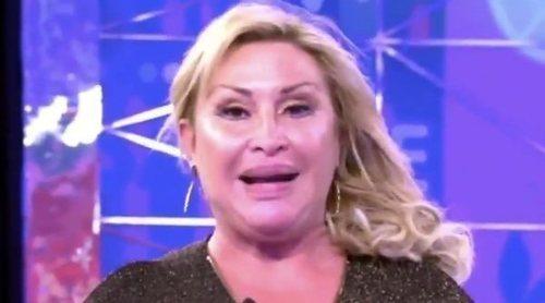 El embarazoso momento de Pedro Piqueras mientras Raquel Mosquera le da paso tras 'Sálvame'