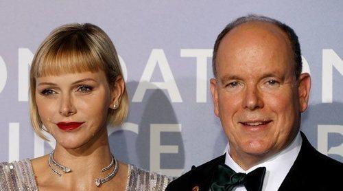 Alberto y Charlene de Mónaco, anfitriones de honor en la gala de Montecarlo a favor del medio ambiente
