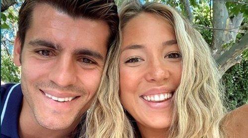 Álvaro Morata y Alice Campello, felices tras instalarse en Italia 'Nos fuimos dos y volvemos cinco'