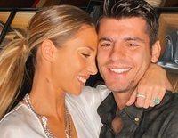 Álvaro Morata y Alice Campello se convierten en padres de su tercer hijo
