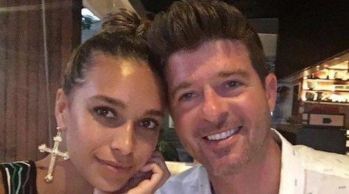 Robin Thicke y April Love Geary anuncian que están esperando su tercer hijo en común
