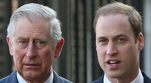 El día en el que Camilla Parker se asustó por los ataques de ira del Príncipe Guillermo contra el Príncipe Carlos