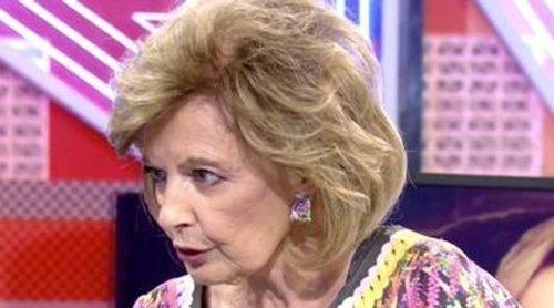 El audio que demuestra que María Teresa Campos conocía los temas de su entrevista en 'Sábado Deluxe'