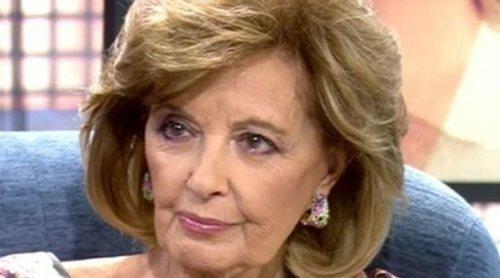 Mila Ximénez revela el motivo que estaría detrás del comportamiento de María Teresa Campos con Jorge Javier Vázquez
