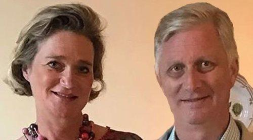 Felipe de Bélgica da la bienvenida a la Familia Real Belga a Delphine Boël: primer encuentro y comunicado conjunto