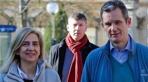 Iñaki Urdangarin disfruta de un permiso con la Infanta Cristina en Barcelona donde han viajado en secreto