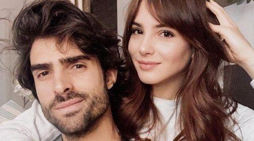Andrea Duro y Juan Betancourt podrían haberse comprometido