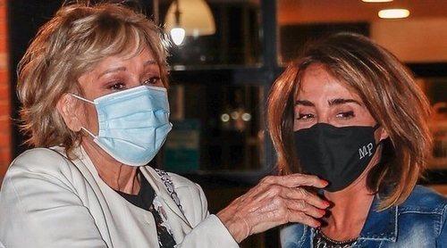 María Patiño acompaña al hospital a Mila Ximénez demostrando que su amistad puede con todo