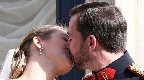 Guillermo y Stéphanie de Luxemburgo celebran su aniversario de boda más feliz