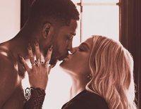 El beso entre Khloé Kardashian y Tristan Thompson que confirmaría que están juntos de nuevo