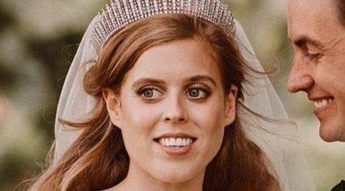 La Princesa Beatriz de York da las gracias de su puño y letra a un admirador que la felicitó por su boda
