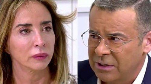 Jorge Javier Vázquez consigue limar asperezas con María Patiño: