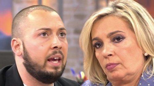 Carmen Borrego estalla contra José Antonio Avilés: '¡Eres un rastrero!'