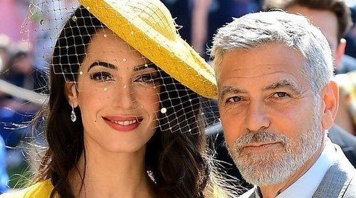 Amal y George Clooney fueron a la boda del Príncipe Harry y Meghan Markle sin conocerles