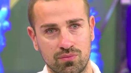 Rafa Mora, emocionado por la confianza de su novia Macarena tras la traición de Antonio David en 'Quiero dinero'