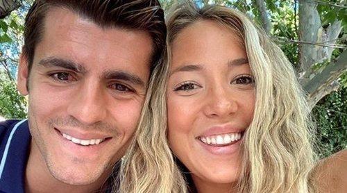 Alice Campello y Álvaro Morata presentan de manera oficial a su tercer hijo