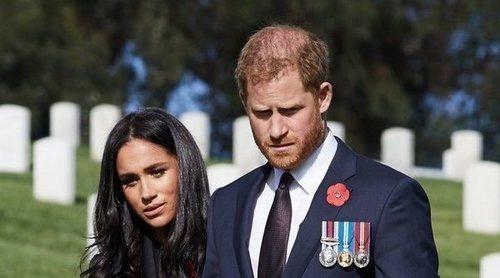 La reaparición sorpresa del Príncipe Harry y Meghan Markle por el Día del Recuerdo 2020