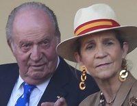 La Infanta Elena realiza la primera visita familiar al Rey Juan Carlos en su exilio en Abu Dabi