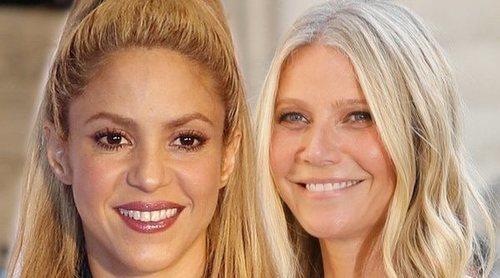 Shakira enseña el peculiar regalo que le ha hecho Gwyneth Paltrow