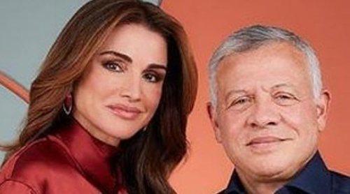 Abdalá y Rania de Jordania felicitan la Navidad en familia y de manera informal