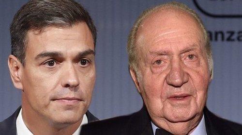 Pedro Sánchez se pronuncia sobre la última actuación del Rey Juan Carlos: 'Se juzgan personas, no instituciones'