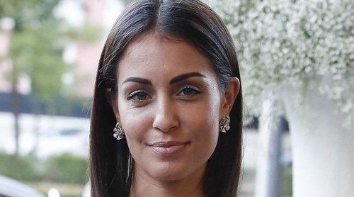 Hiba Abouk vuelve al set de rodaje después de haber sido mamá