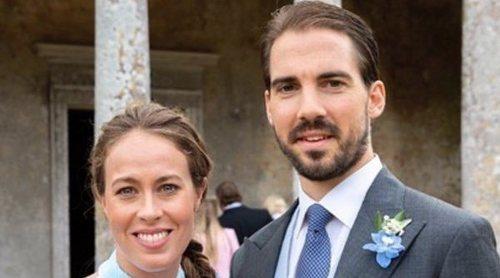 La Infanta Cristina e Irene Urdangarin, representantes de la realeza española en la boda de Felipe de Grecia y Nina Flohr