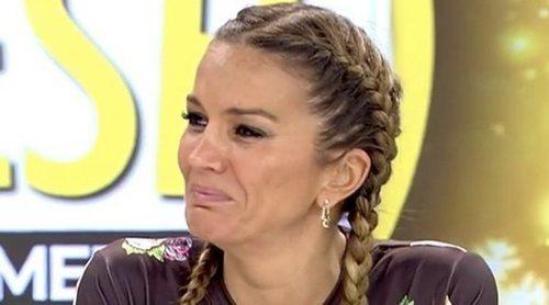 Marta López rompe a llorar en directo por el polígrafo de Efrén Reyero: 'Yo soy gilipollas'