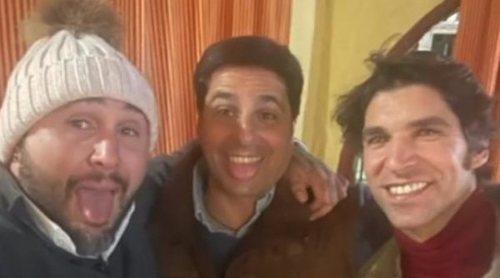 Fran, Cayetano y Kiko Rivera se reencuentran en Navidad