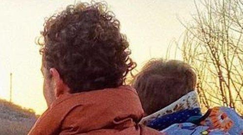 David Bisbal comparte la primera foto con Rosanna Zanetti y sus tres hijos