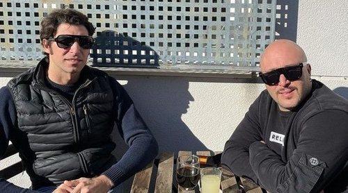 Kiko Rivera despide 2020 junto a su hermano Cayetano Rivera