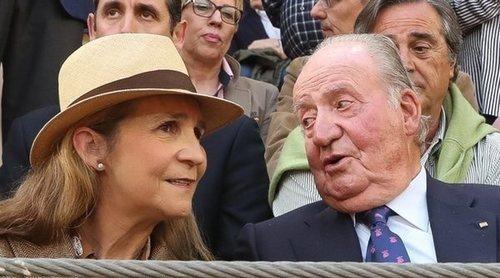 El Rey Juan Carlos celebra su 83 cumpleaños con la Infanta Elena en Abu Dabi