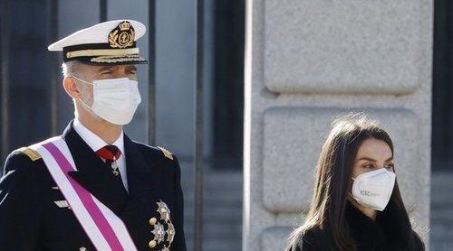 Los Reyes Felipe y Letizia presiden la atípica Pascua Militar 2021 marcada por la pandemia