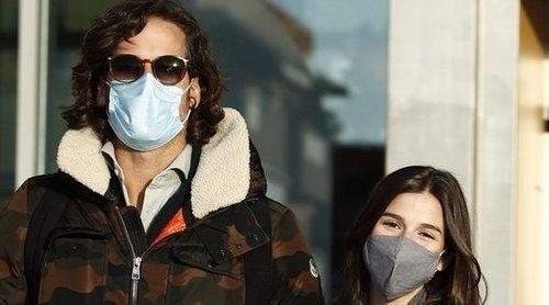 Feliciano López y Sandra Gago salen del hospital después de haber sido padres de su primer hijo