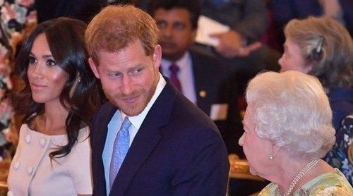 La Reina Isabel pone fecha y optimismo al regreso del Príncipe Harry y Meghan Markle a un acto público