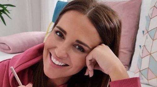 Paula Echevarría enseña las primeras 'conversaciones' de Daniella Bustamante con su bebé en camino