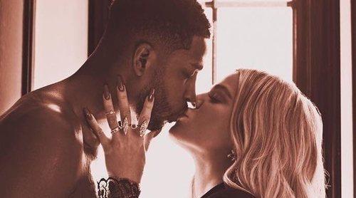 No, Khloé Kardashian y Tristan Thompson no se han comprometido, simplemente Khloé es muy rica