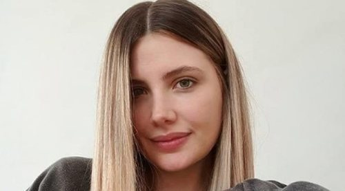Miriam Giovanelli, madre por segunda vez en medio de la borrasca Filomena