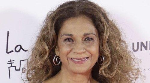 Lolita Flores, sobre el día que le dio una arritmia: 'Me tiré al suelo, estaba asustada'