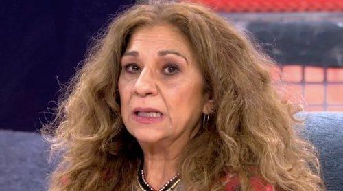 Lolita Flores: 'No tengo nada en contra de Isabel Pantoja y me da pena lo que está pasando con Kiko Rivera'