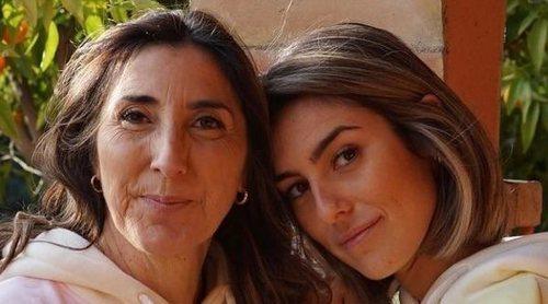 Paz Padilla rinde homenaje a su marido Antonio Vidal seis meses después de su muerte junto a su hija Anna Ferrer