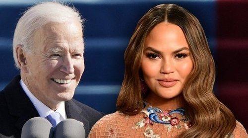 Chrissy Teigen, la única celebrity a la que sigue en Twitter Joe Biden desde su cuenta de Presidente