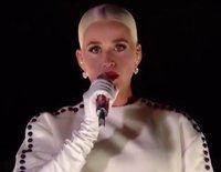 Katy Perry clausura la toma de posesión de Joe Biden con una actuación espectacular entre fuegos artificiales